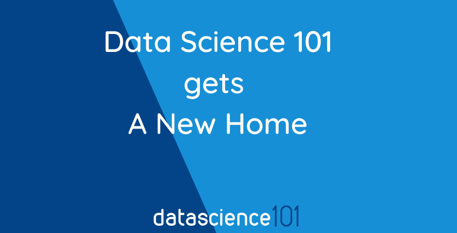 datascience101 new home