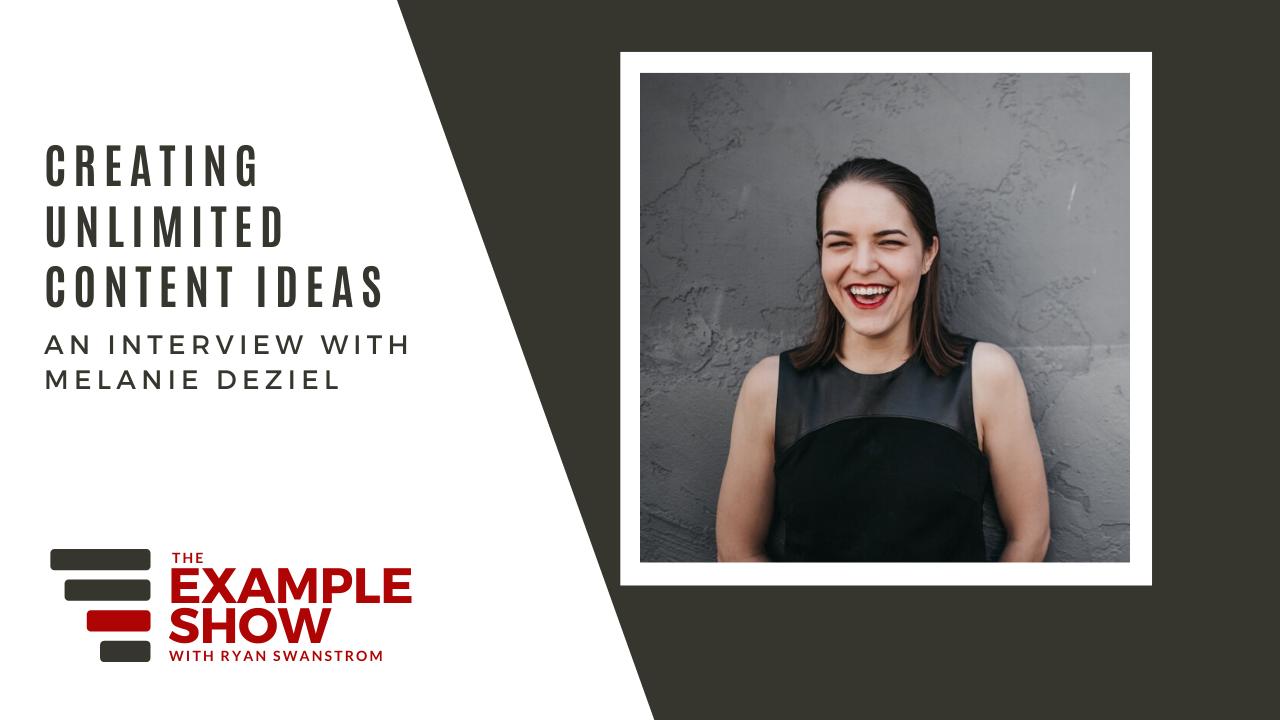 Melanie Deziel - Unlimited Content Ideas
